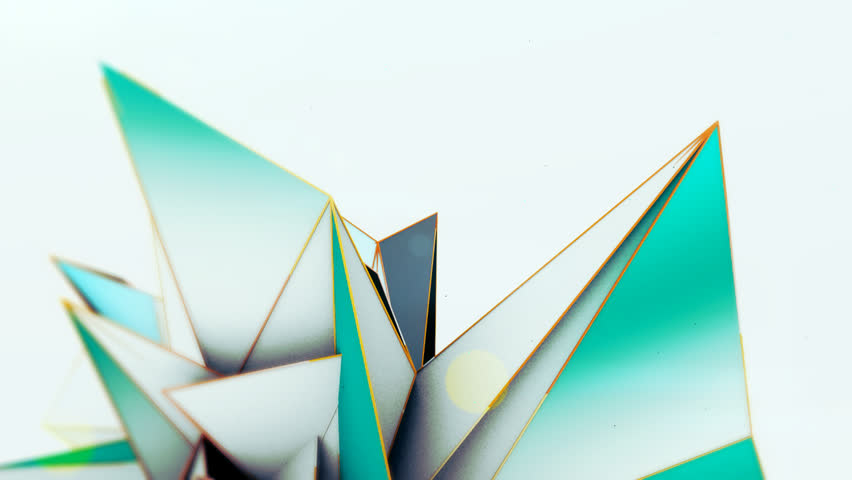 Abstract polygon based animation. Use as a background or with type.