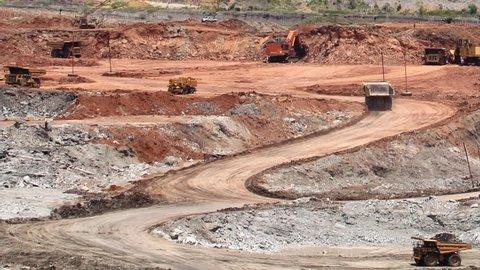 pan open pit lignite mine
