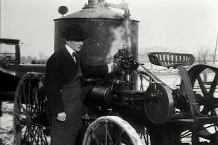 1910s, 1920s - Historical shots of Henry Ford from various eras.