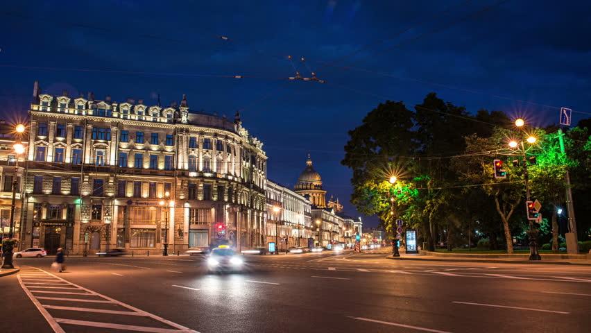 Nevsky Prospect and St. Isaac