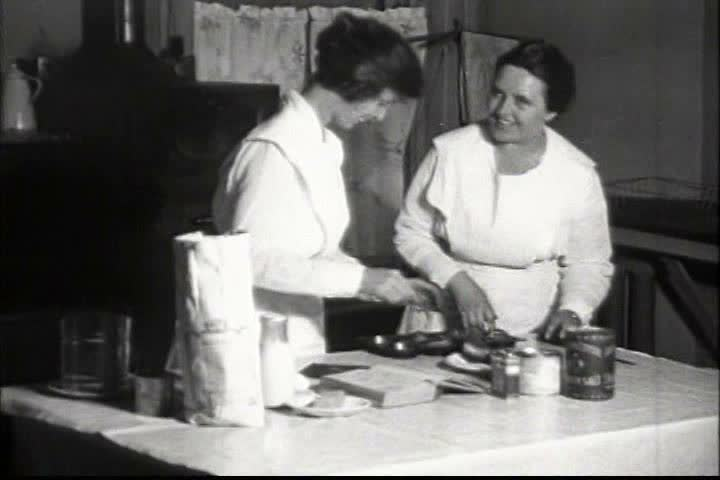 1920s - Orphaned children live in poverty in America in 1920. - SD stock footage