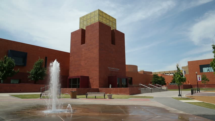FORT WORTH, TEXAS/USA - MAY 09: Fort Worth Museum of Science and History on May 09, 2013 in Fort Worth. The museum houses an Omni Theater and a planetarium.
