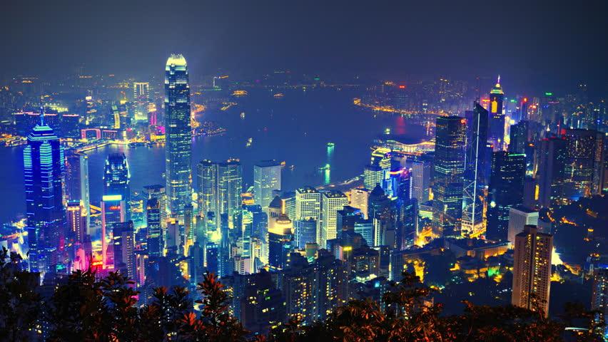 Hong Kong cityscape   Shutterstock HD Video #4106215