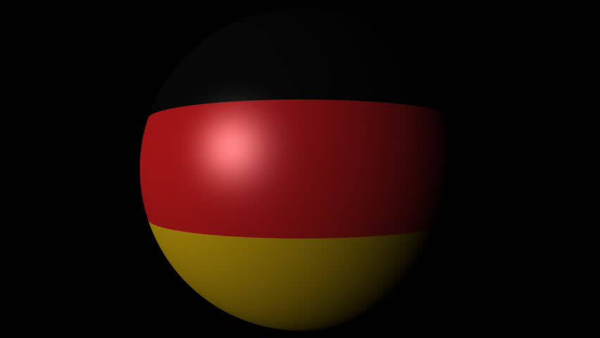Germany Map Flag In Abstract Ocean Of Binary Animation Stock - Germany map hd