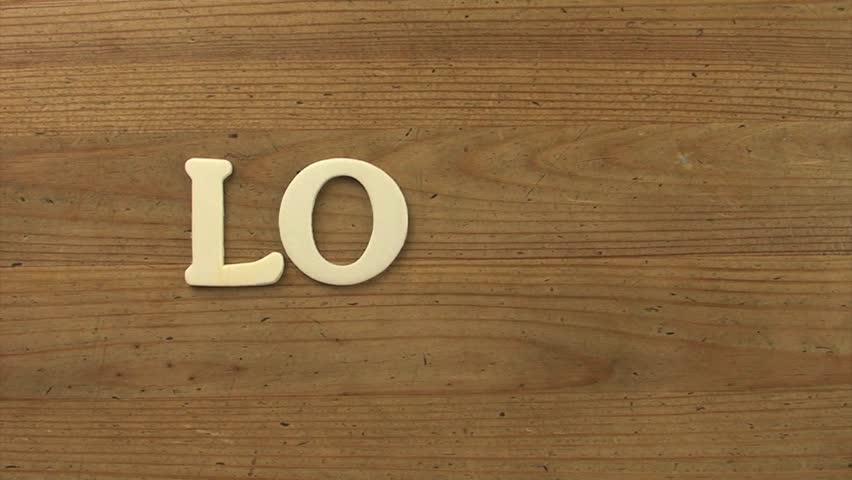 Wood Love   Shutterstock HD Video #4124632