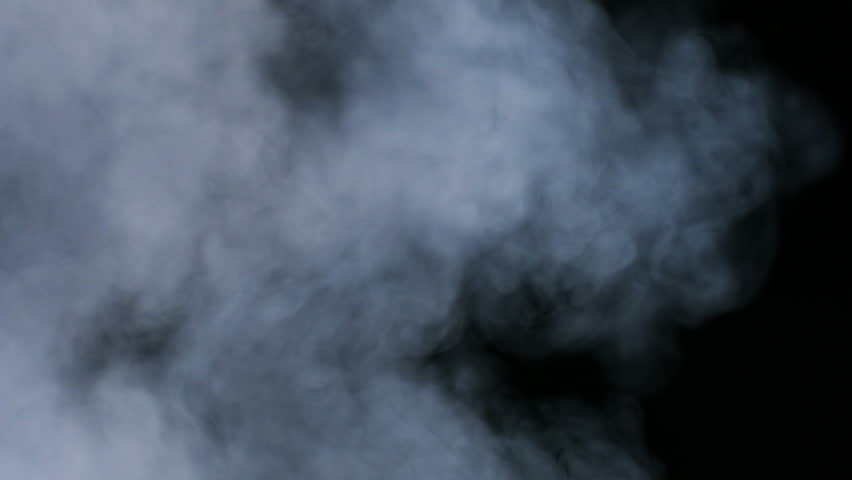 Smoke coming out on black background shooting with high speed camera, phantom flex. | Shutterstock HD Video #4132645