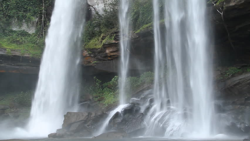Huayluang Waterfall at Ubonratchathani Province, Thailand