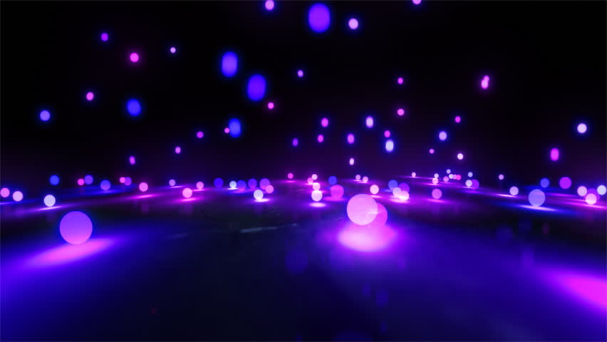 Colorful light balls background can be use for any fashion and concert theme. | Shutterstock HD Video #4198453