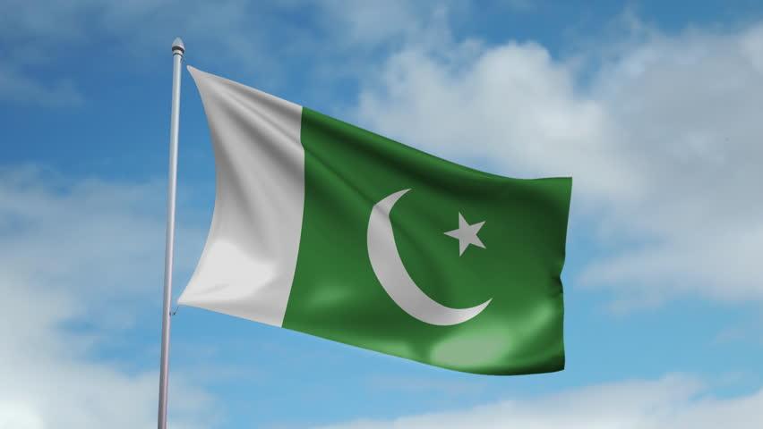 Flag Of Pakistan Stock Footage Video 2580917   Shutterstock
