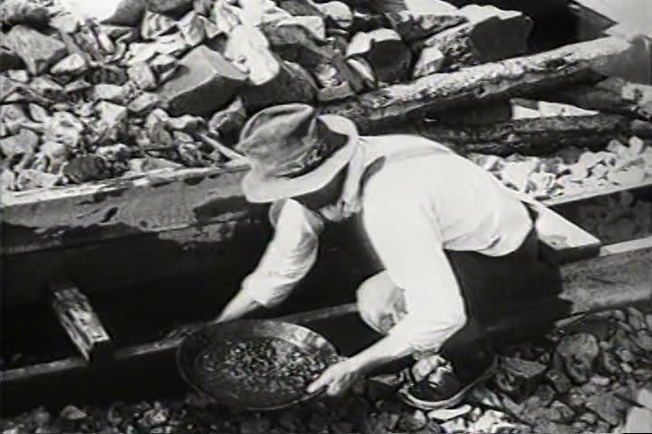 1930s - In Spring Creek, South Dakota, gold is still found in the hills in 1931.