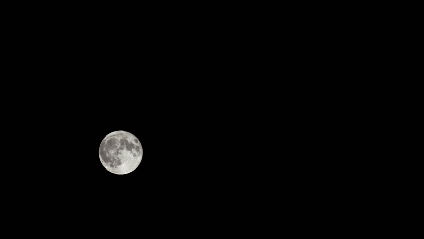 Time lapse of moon becomes a version of one of the classic video games of the