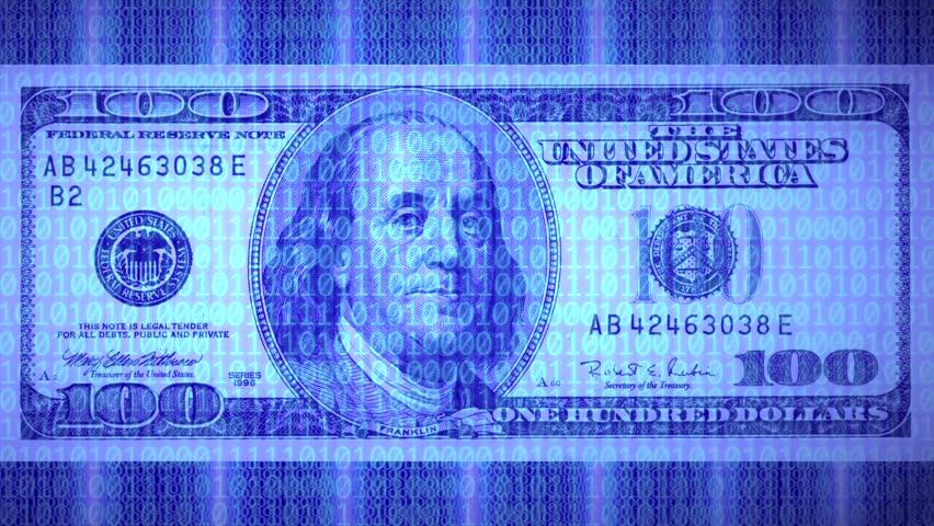 Ultrahd Of 100 Dollar Bill 4k Stock Fooe Clip