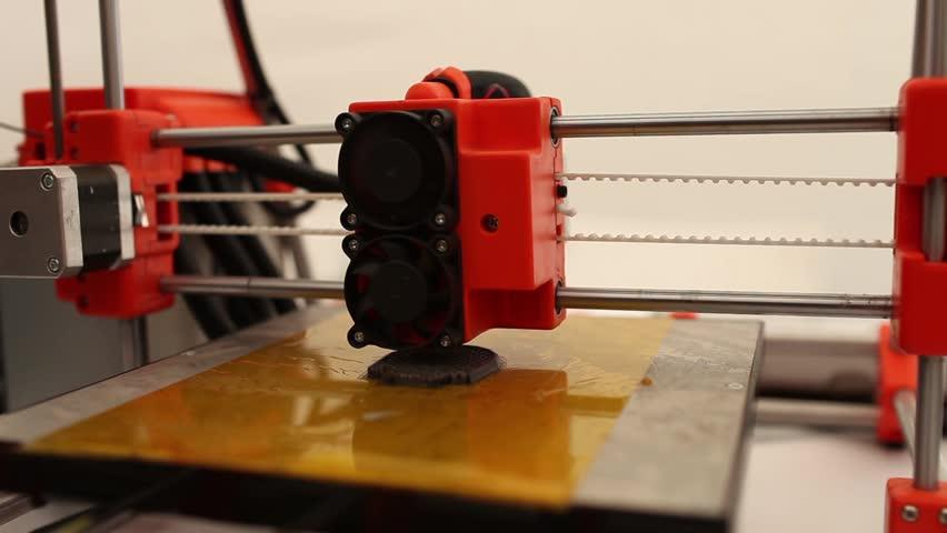 3d printing    Shutterstock HD Video #4395155