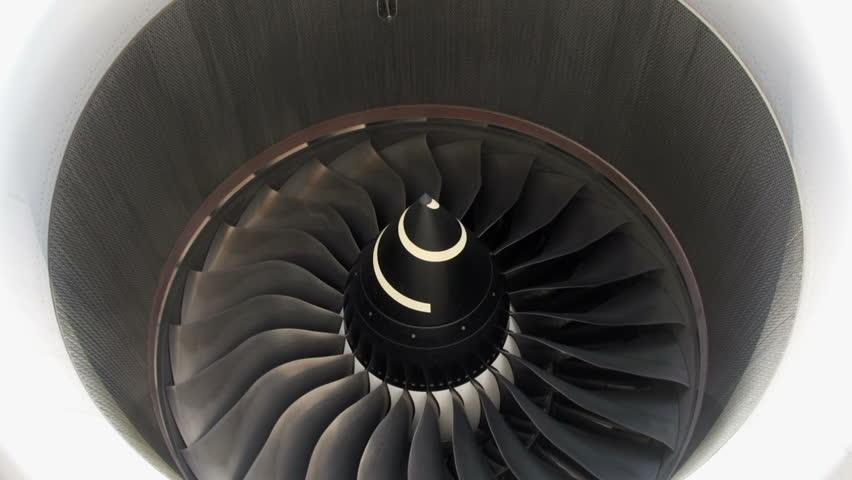 Giant aircraft turbine