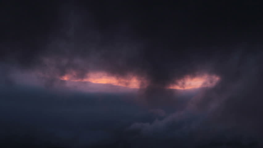 Midnight clouds in the norwegian mountains in summer | Shutterstock HD Video #4417505