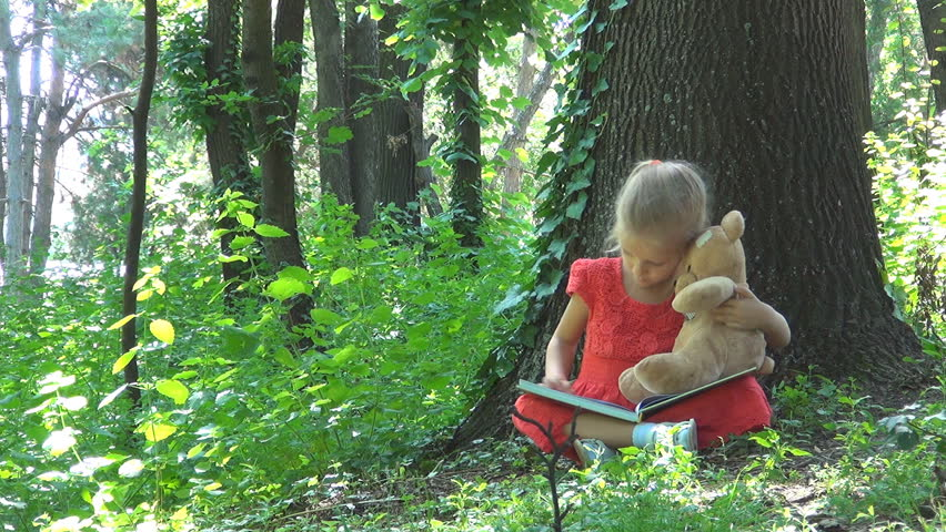 Image result for child in forest