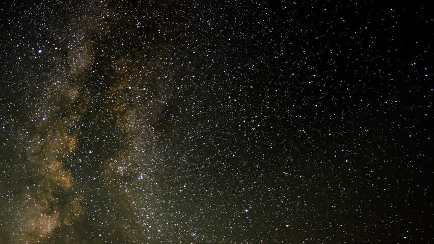 Perseid Meteor Shower Milky Way 03 Time Lapse Sierra Nevada Mts USA