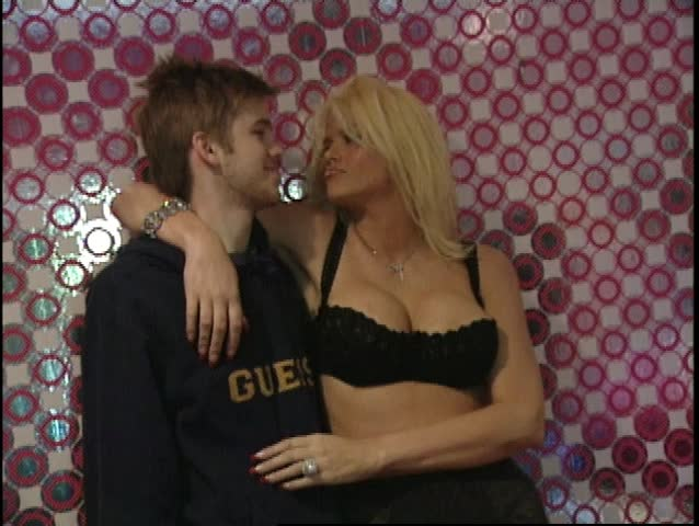 LOS ANGELES - April 8, 2004: Anna Nicole Smith and Daniel Smith at the Anna Nicole Smith FHM in the in April 8, 2004