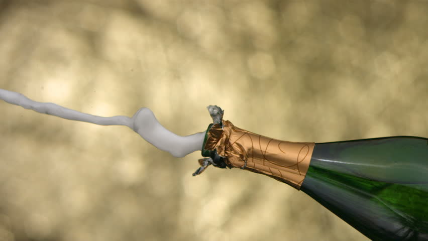 New Year's Champagne, slow motion | Shutterstock HD Video #4655030