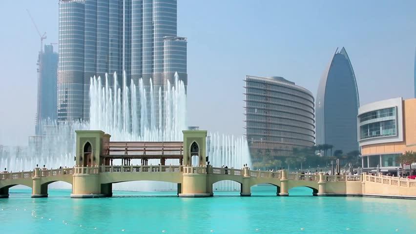DUBAI, UAE, OKTOBER 16: Burj Khalifa facade, October 16, 2011 in Dubai, UAE. Burj Khalifa is a tallest building in the world, at 828m. Located on Downtown Dubai, Sheikh Zayed Road