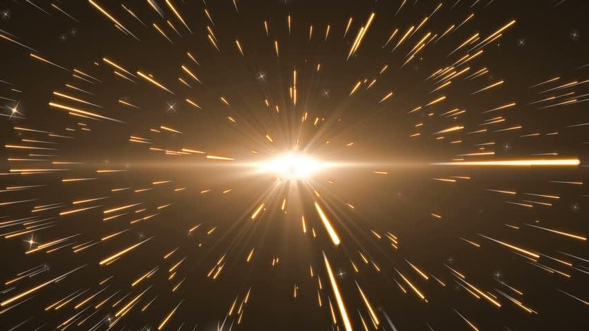 Comet golden star stream