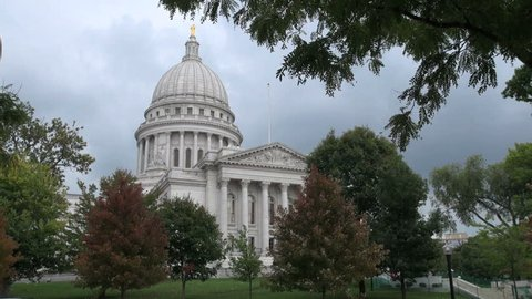 Madison Wisconsin State House view