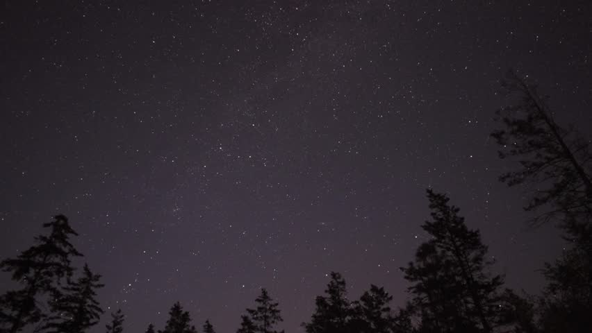 NIGHT SKY TIME-LAPSE STARS