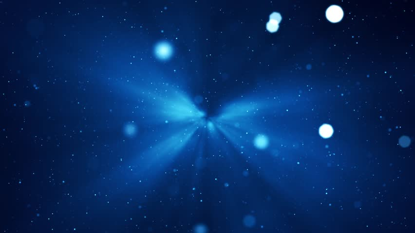 Moving particles. Blue tint. Seamless loop. More colors available - check my portfolio. | Shutterstock HD Video #4779308