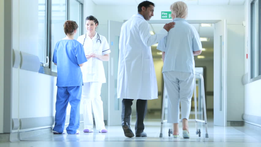Image result for image of doctors in hospital corridor
