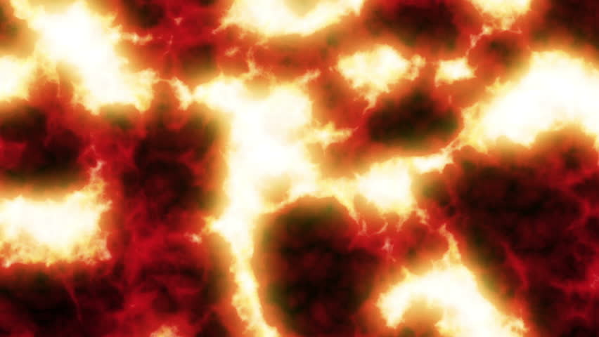 Lava flowing. Clear video. HD 1080. Looped 3d animation. | Shutterstock HD Video #4831475