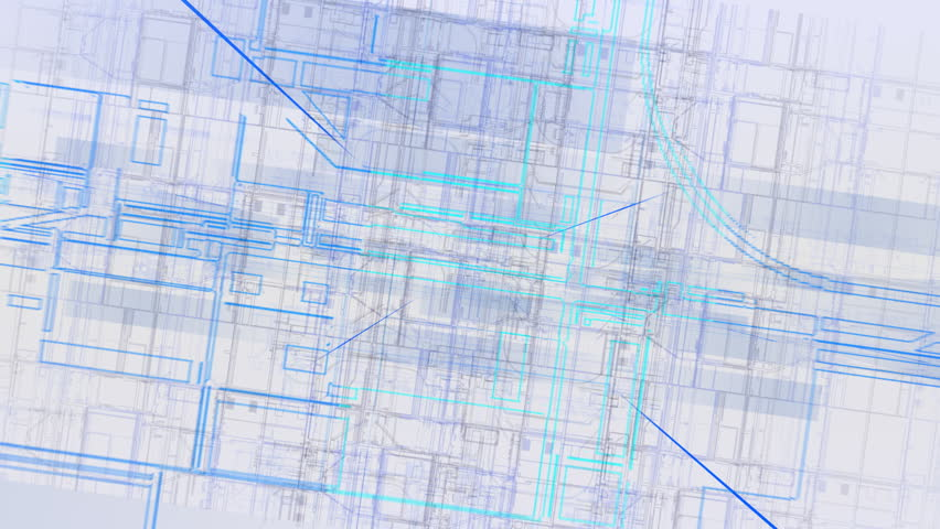 Blueprint of a house looped background full hd ultra hd 4k digital images cy spaw hd stock footage clip malvernweather Choice Image