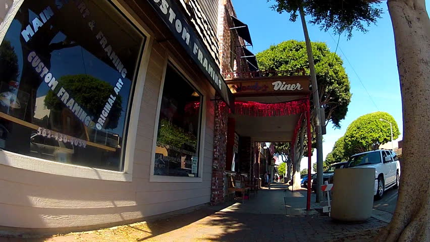 Seal Beach Main Street Stock Video Footage 4k And Hd Video Clips