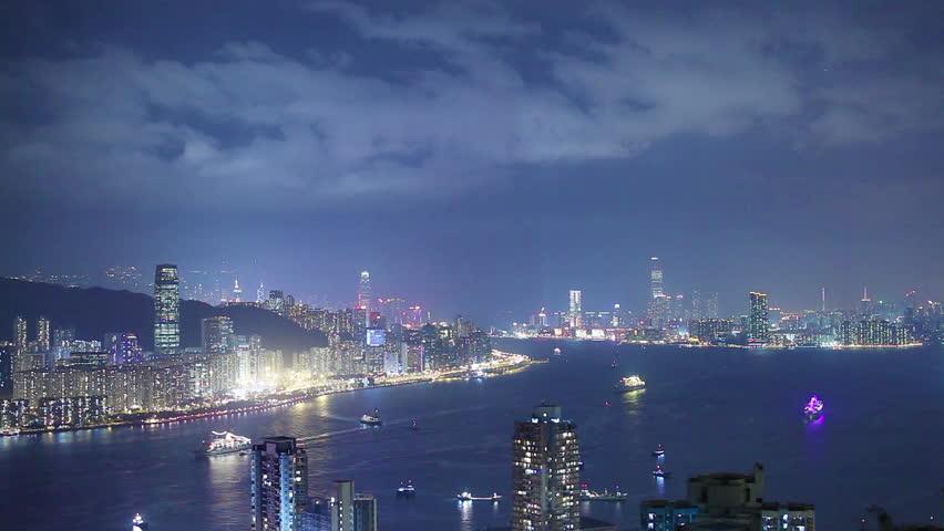 Hong Kong architecture. Timelapse | Shutterstock HD Video #4871609
