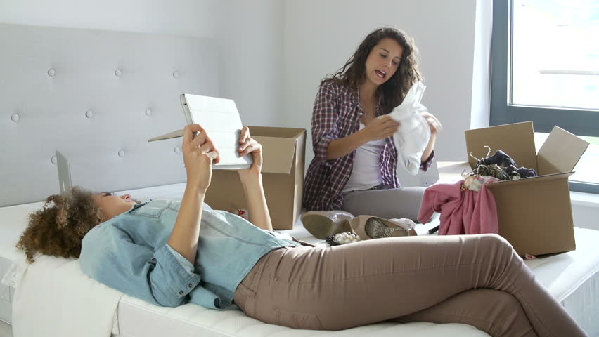 Image result for woman moving out in bedroom