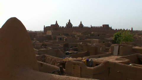 The famous mosque at Djenne, Mali.