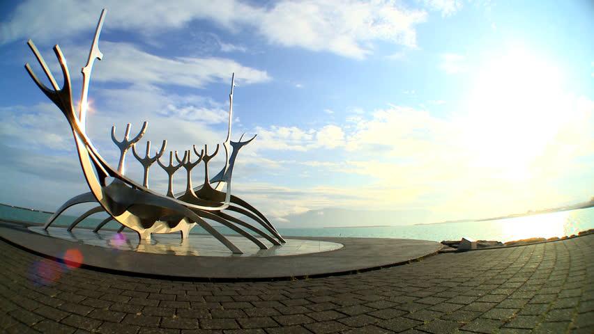 Viking Boat Stock Footage Video | Shutterstock