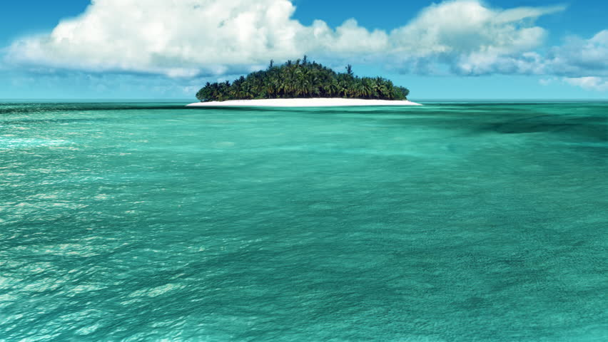 Caribbean Island loop | Shutterstock HD Video #4896029