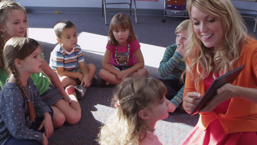 Teacher with students | Shutterstock HD Video #4898339