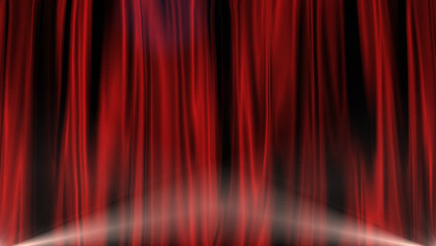 Red Curtain with Alpha Channel