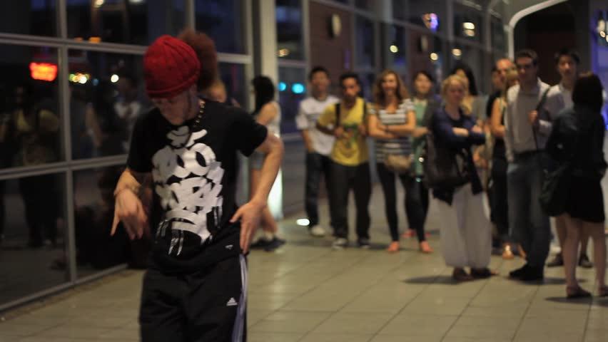 BRISTOL - August 10: Break Dancing / Street Dance - Short Sequence - August 10 2013 in Bristol England
