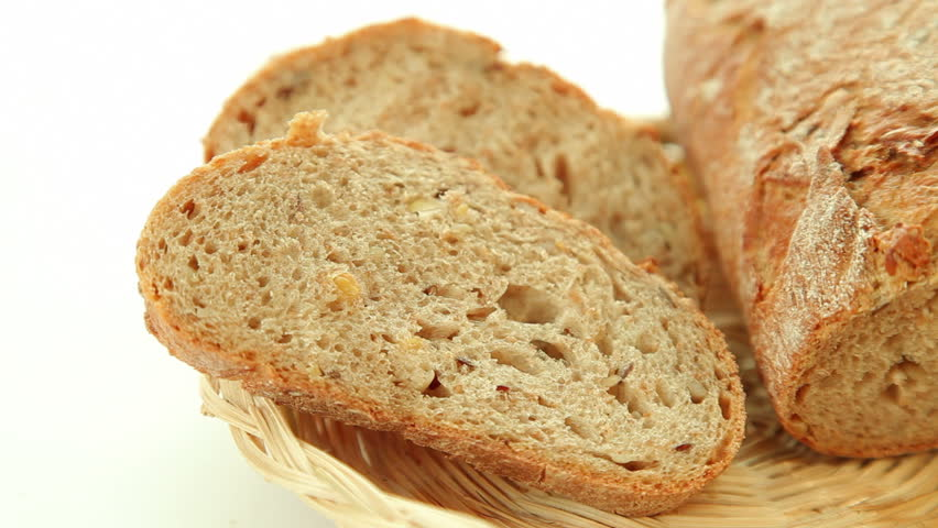 Header of dark bread