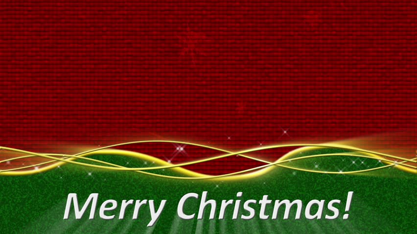 Merry Christmas Banner Stock Footage Video | Shutterstock