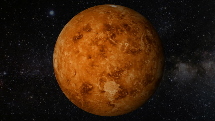 The background information of the planet venus