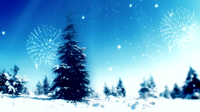 New year tree, snowing art ( Special Series for 2014 )  | Shutterstock HD Video #5138150