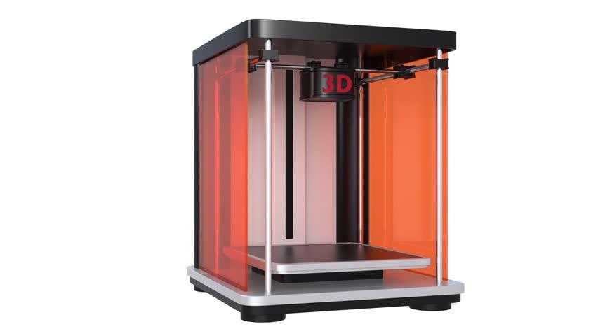 3D print demonstration | Shutterstock HD Video #5145155