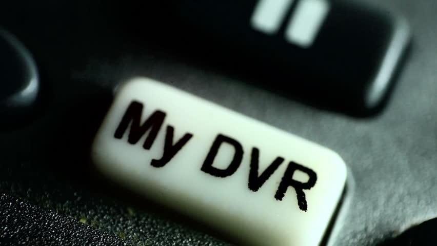 My DVR button press | Shutterstock HD Video #5198474