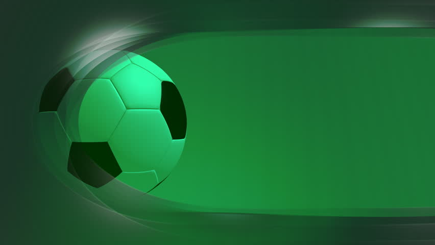 soccer looping animated template style background stock footage