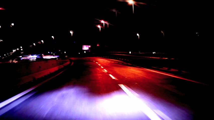 ROME, ITALY - December 09, 2012: Intense traffic on roman circular highway (GRA, Grande Raccordo Anulare) - Cameracar timelapse | Shutterstock HD Video #5229965