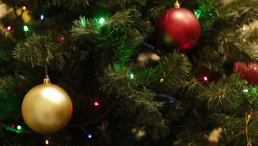 Christmas Tree Lights Garland