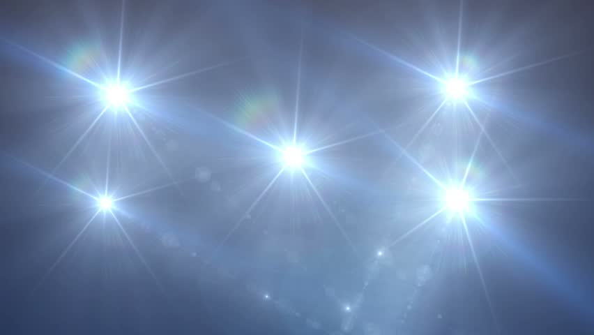 Animated Background Of Flashing Lights Stock Footage Video